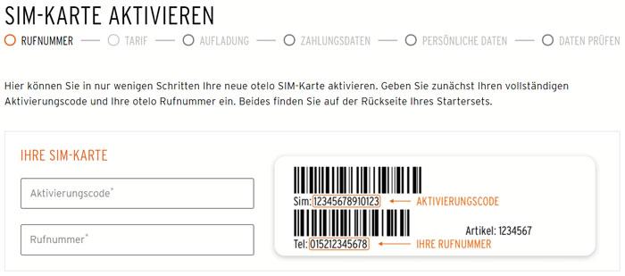 Otelo-SIM-Karte-aktivieren